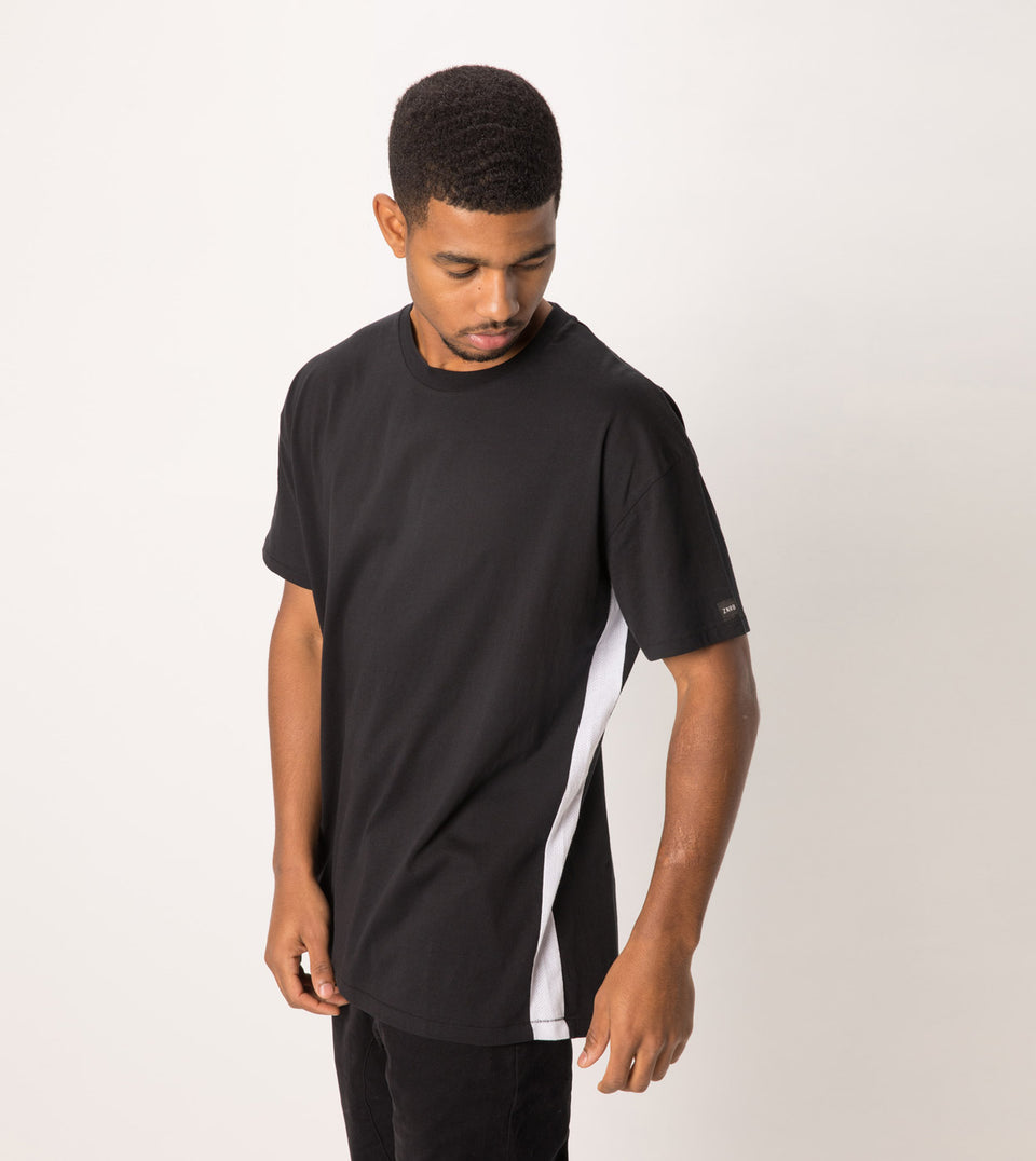 Sideline Rugger Tee Black - Sale