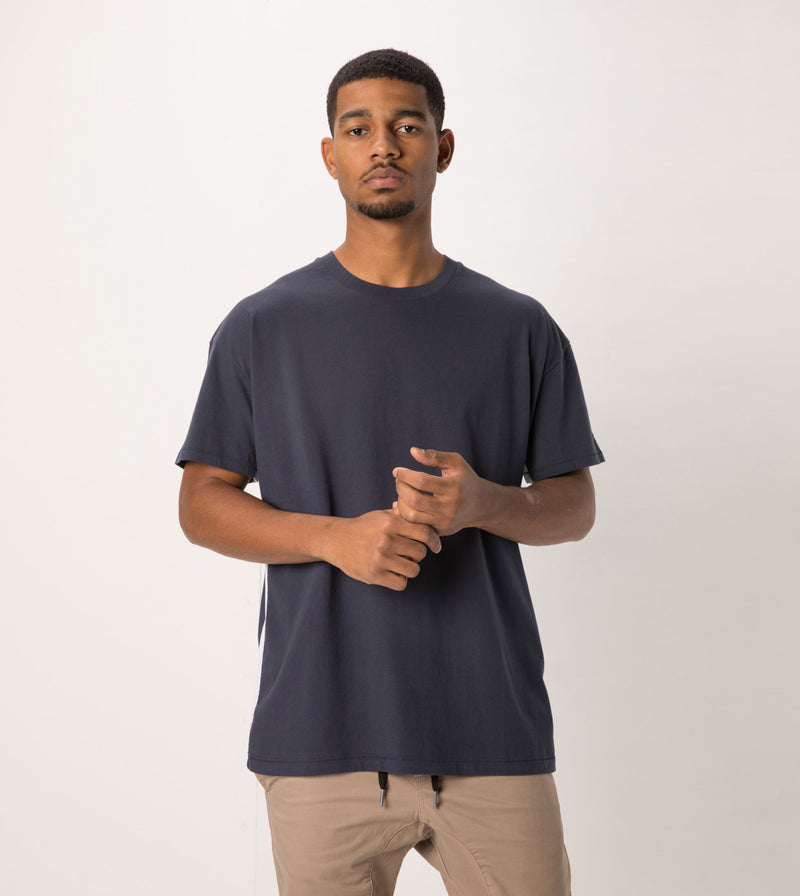 Sideline Rugger Tee Duke Blue