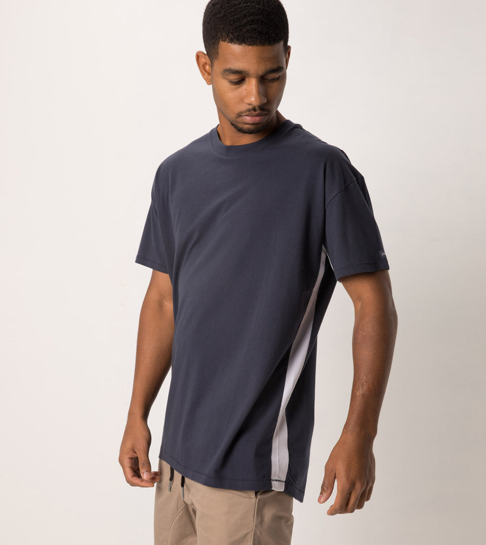 Sideline Rugger Tee Duke Blue - Sale