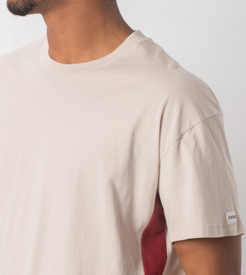Sideline Rugger Tee Natural