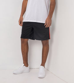 Sideline Track Short Black/Vintage Red - Sale