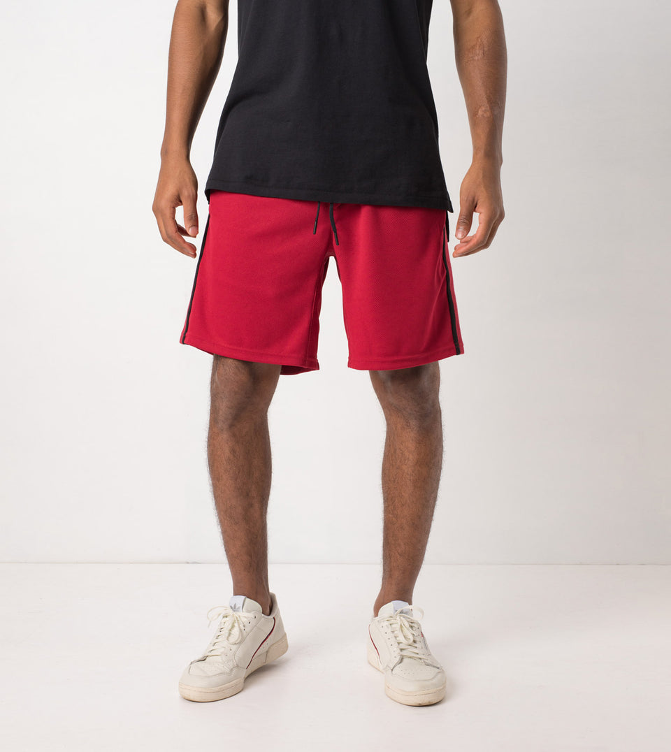 Sideline Short Dark Cherry/Black