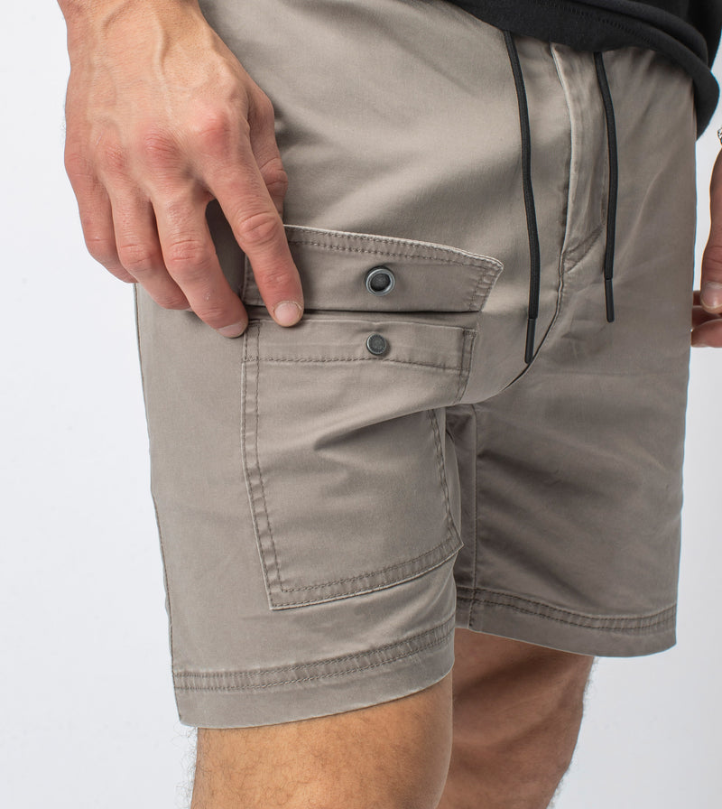 Snapshot Cargo Short Washed Almond