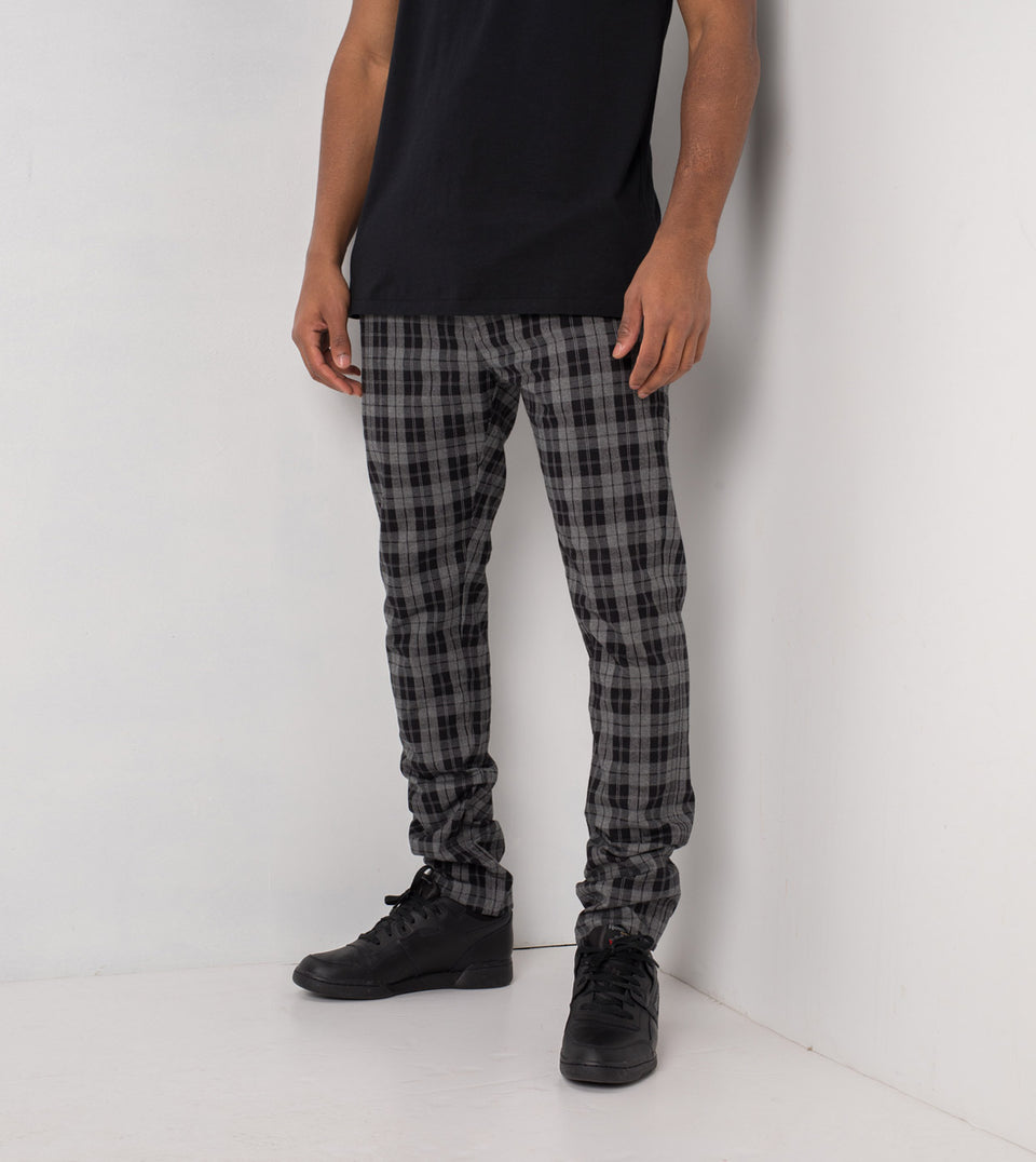 Snapshot Chino Black/Grey Marle