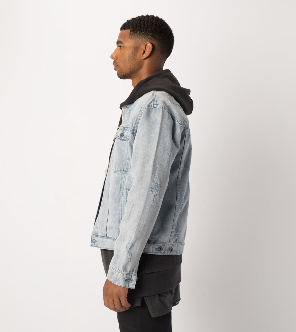 Snitch Denim Jacket Arctic Wash - Sale