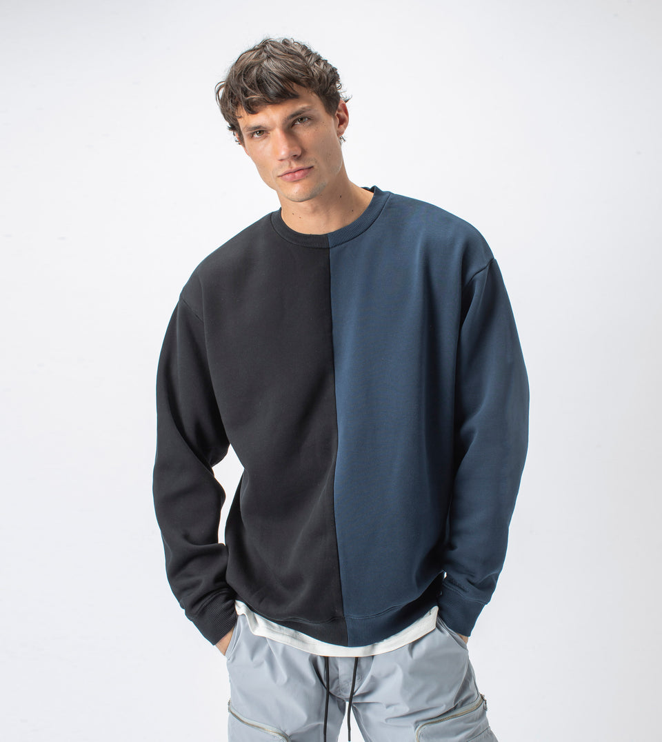 Splice Crew Sweat Smokey Black/Ink