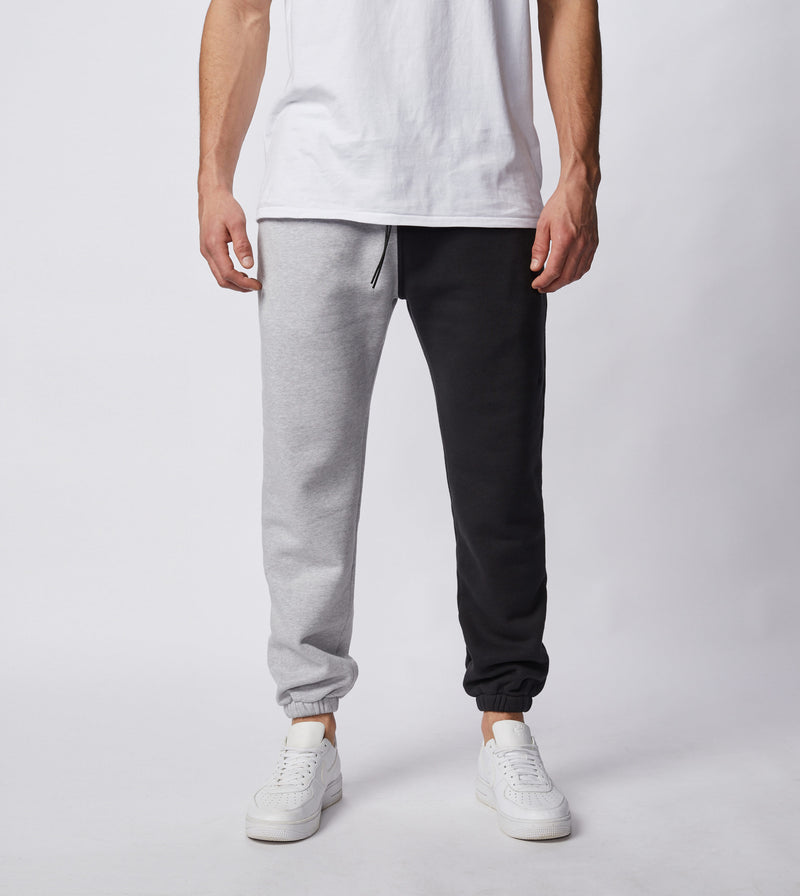 Splice Jumpa Sweat Fleece Jogger Silver Marle/Black - Sale