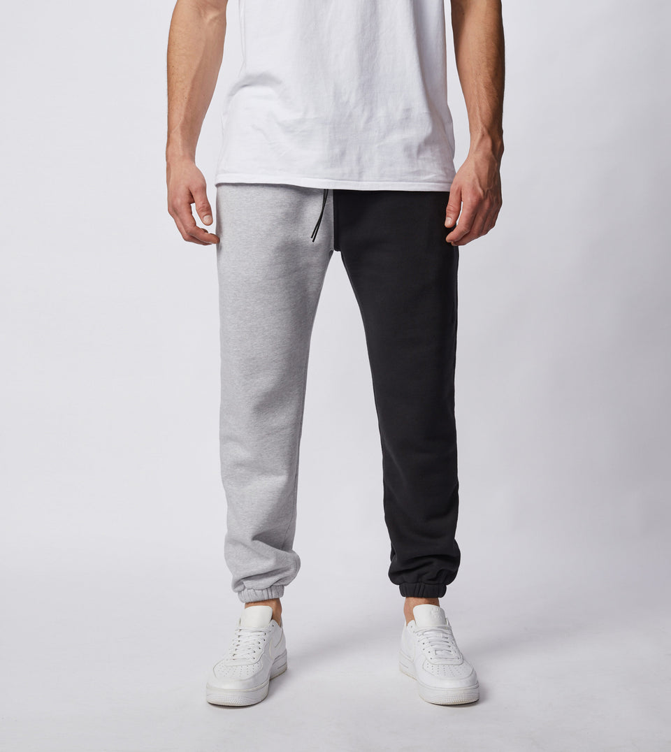 Splice Jumpa Sweat Fleece Jogger Silver Marle/Black