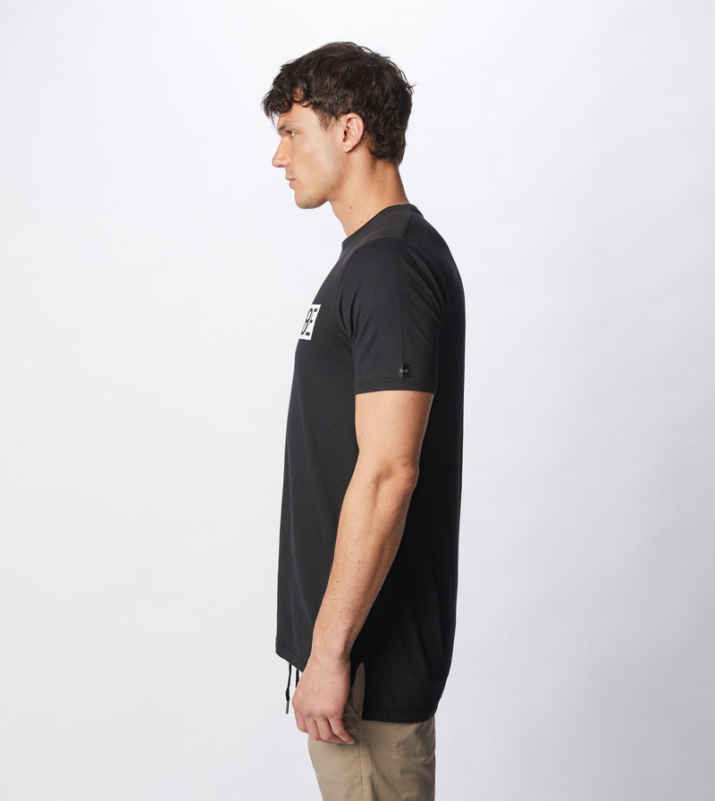 Spliced Flintlock Tee Black - Sale