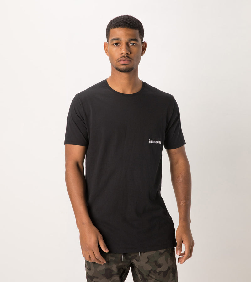 Sponsor Flintlock Tee Black