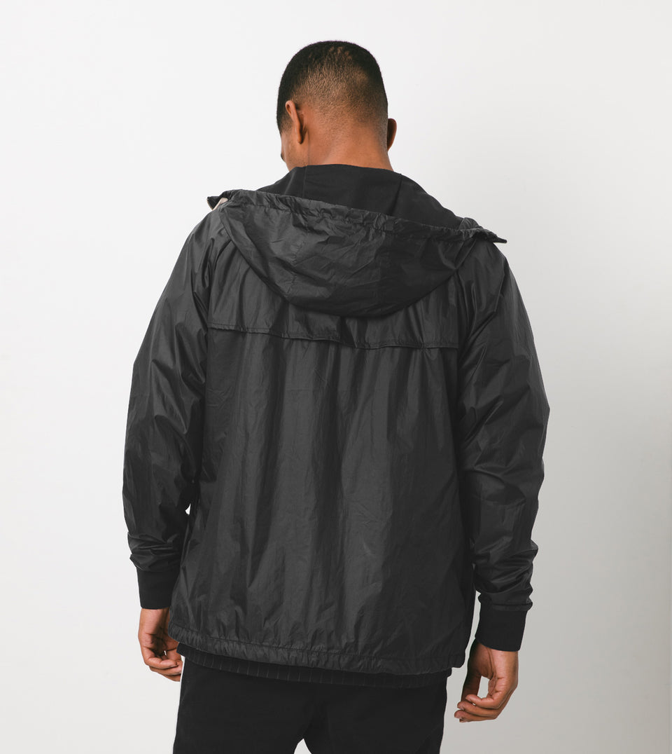 Storm Spray Jacket Scratched Black