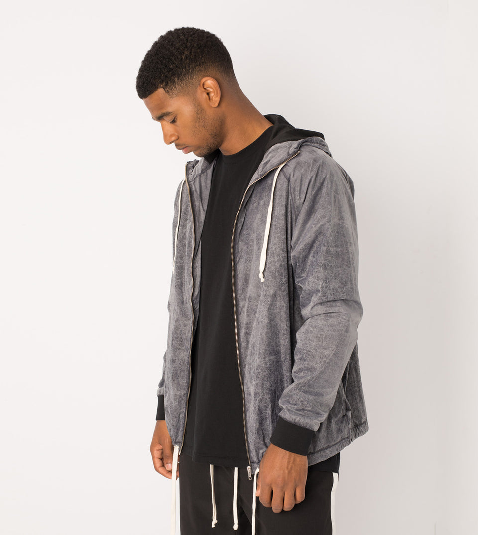 Storm Spray Jacket Scratched Grey