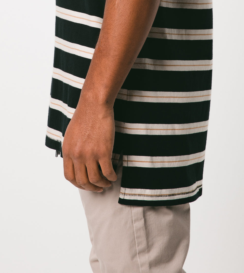 Stripe Flintlock Tee Black/Shell - Sale