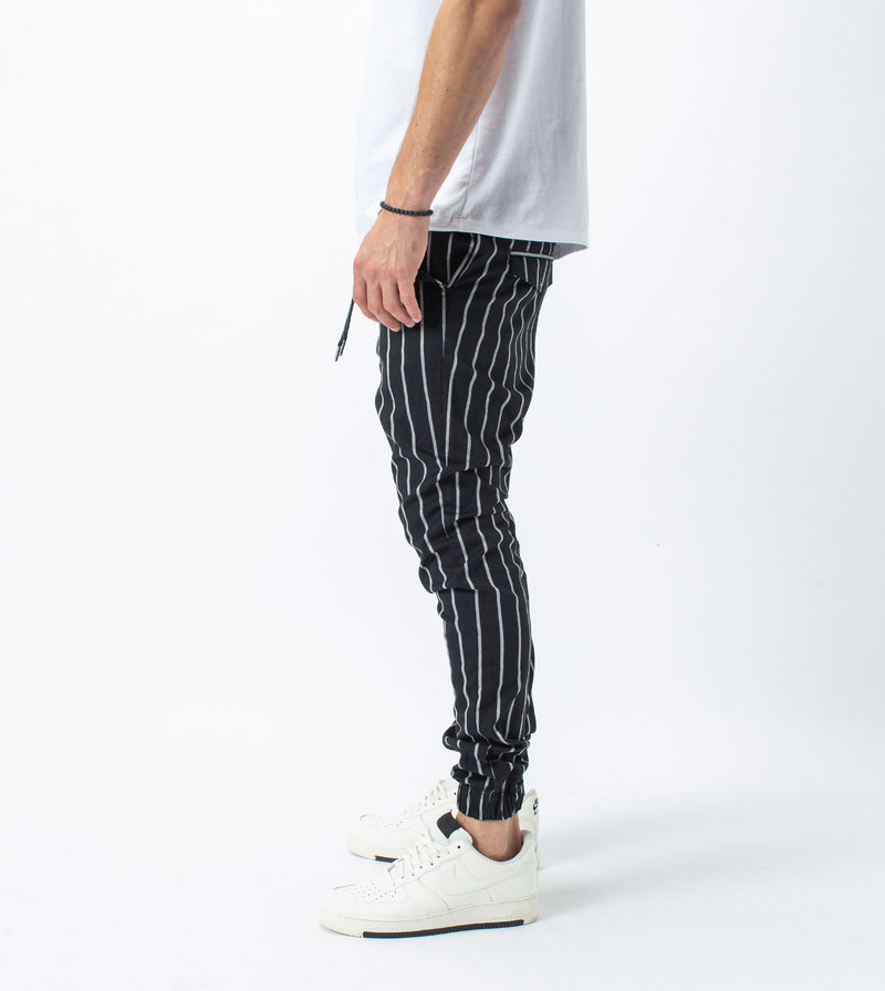 Stripe Sureshot Jogger Black/Milk - Sale