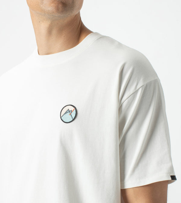 Summit Patch Box Tee Milk
