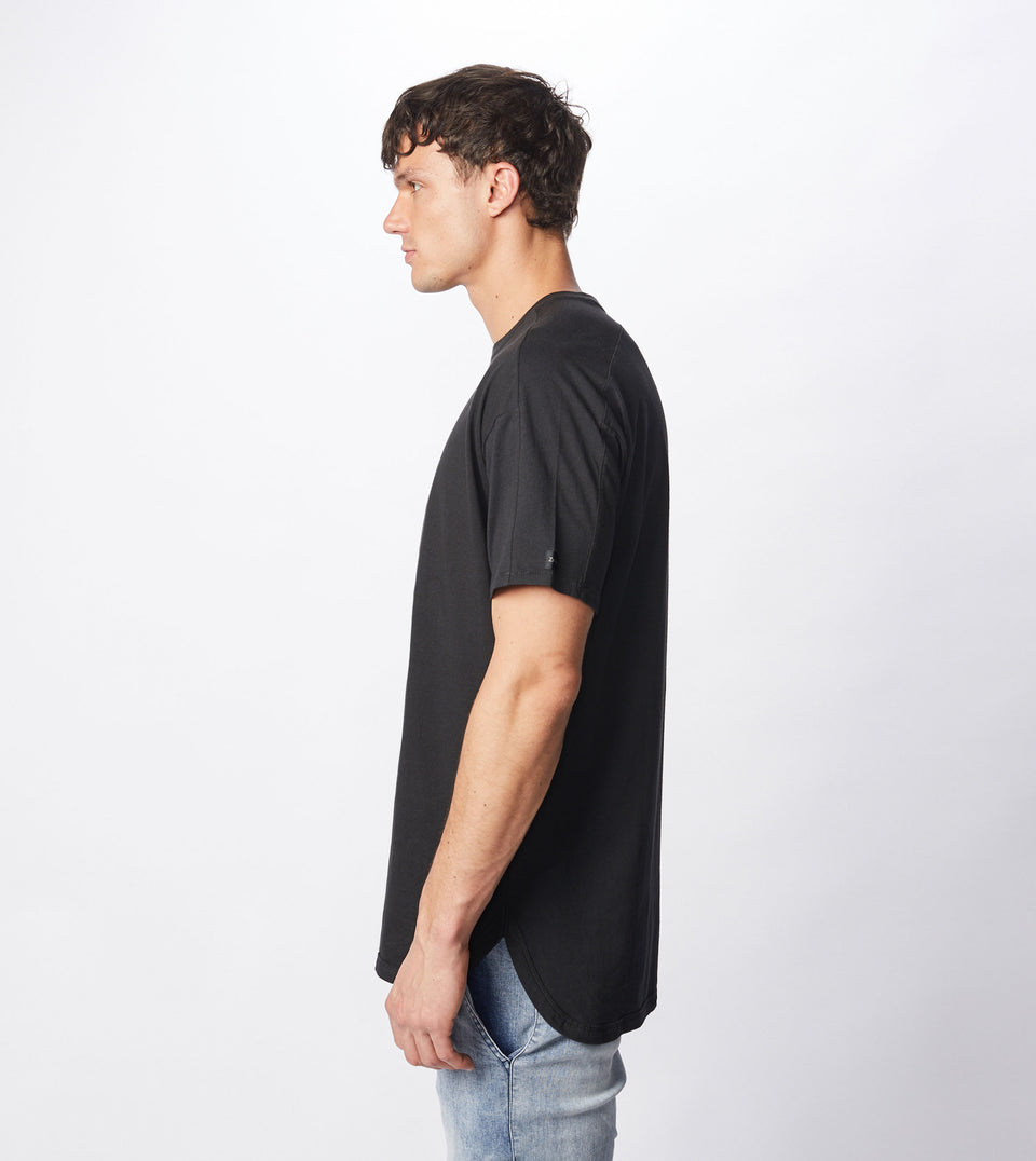 Super Rugger Tee Black
