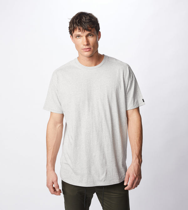 Super Rugger Tee Silver Marle