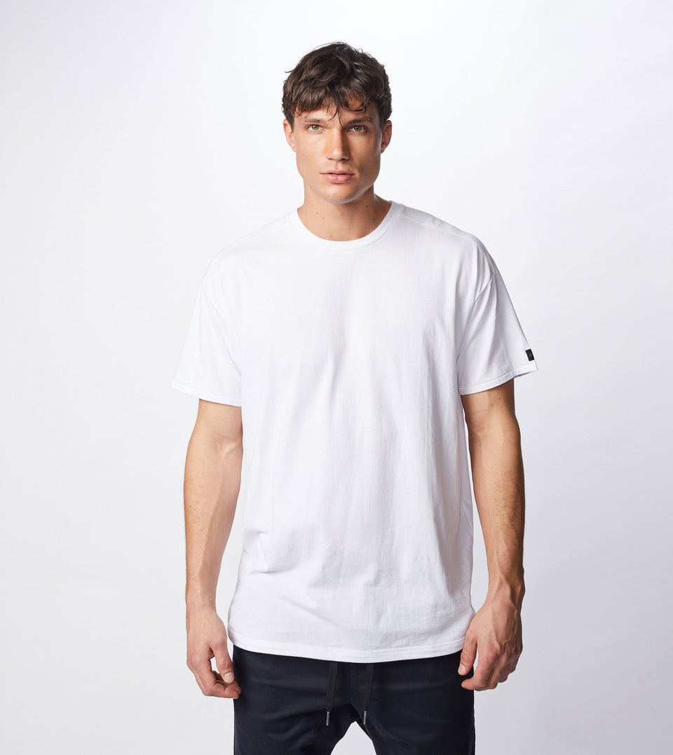 Super Rugger Tee White