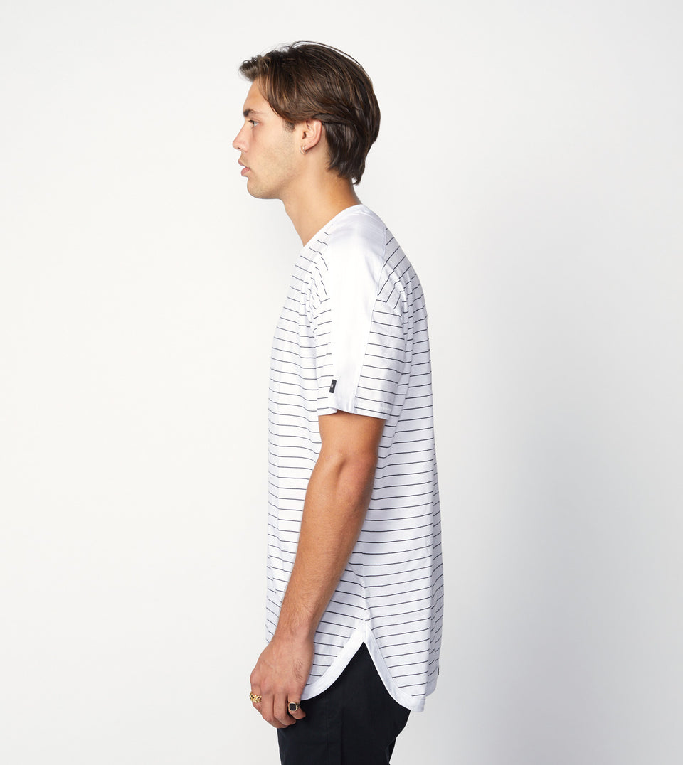 Super Rugger Tee White/Black - Sale