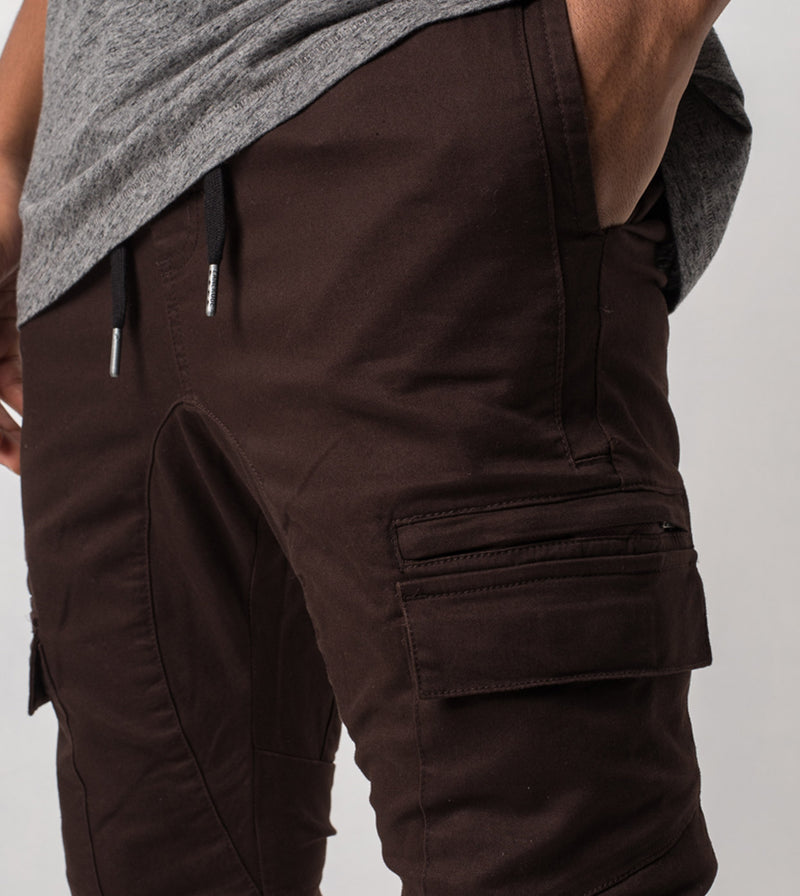 Sureshot Cargo Jogger Coffee - Sale