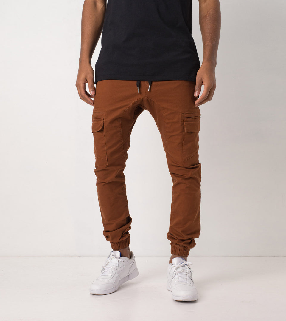 Sureshot Cargo Jogger Dark Bronze - Sale