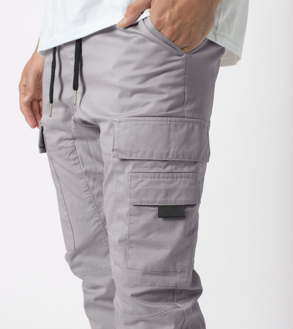 Sureshot Lightweight Cargo Jogger Cement