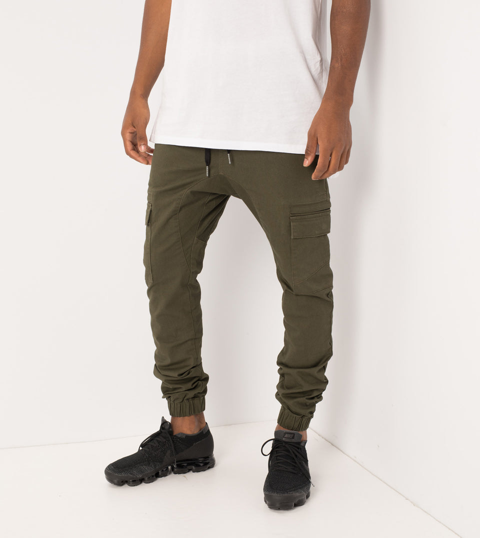 Sureshot Cargo Jogger Military - Sale