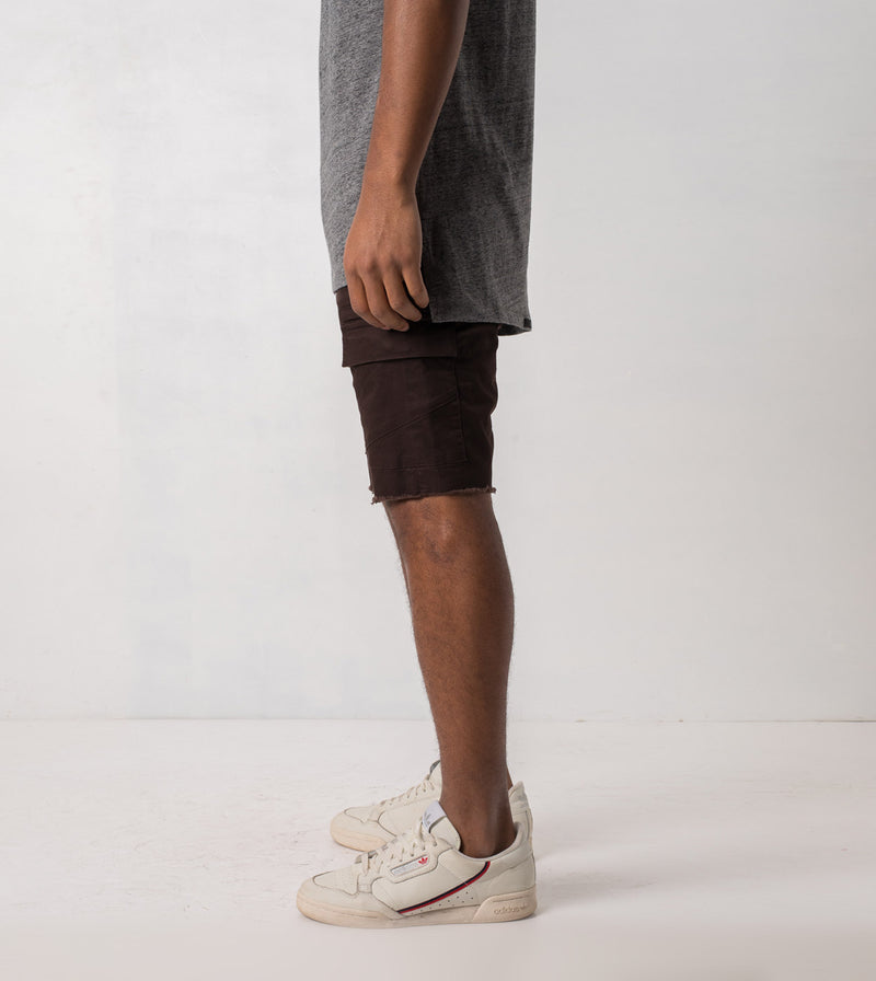 Sureshot Cargo Short Coffee