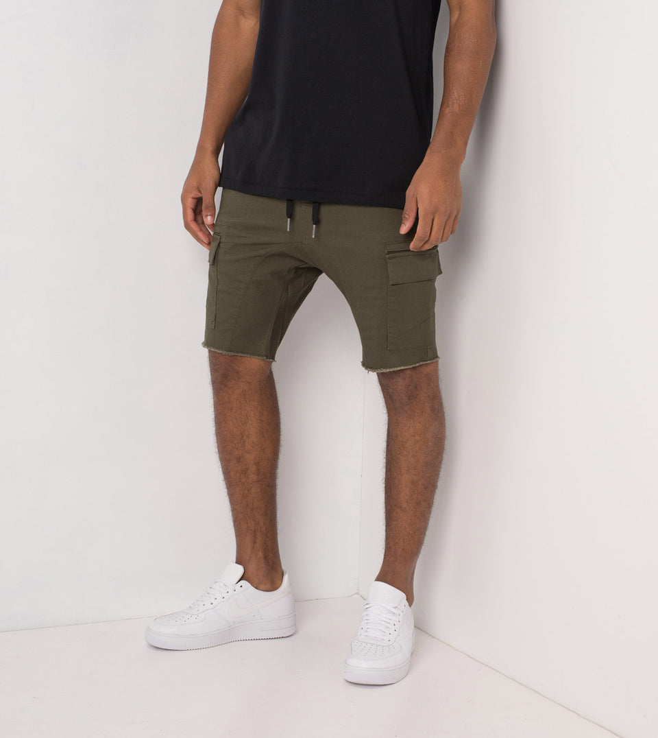Sureshot Cargo Short Military