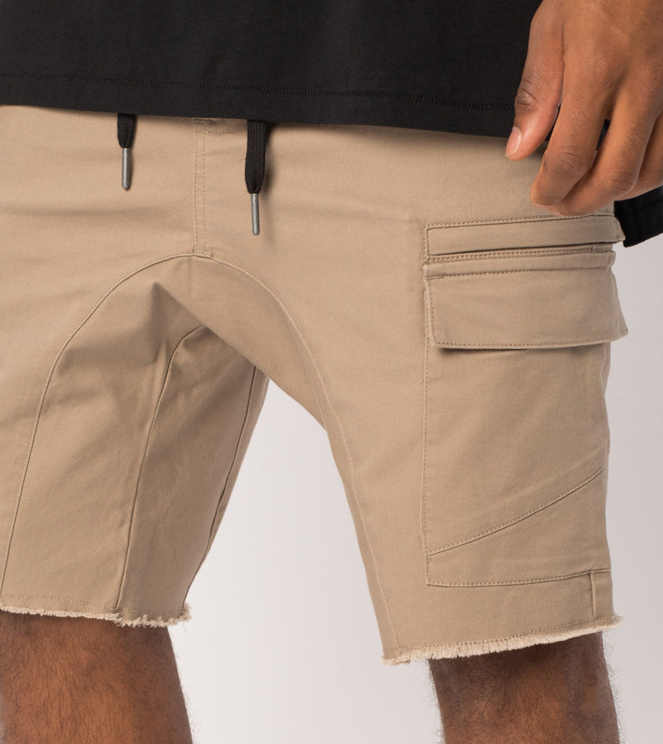 Sureshot Cargo Short Sand
