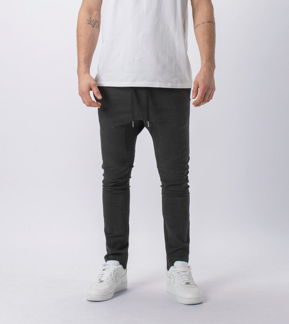 Sureshot Chino Charcoal Marle
