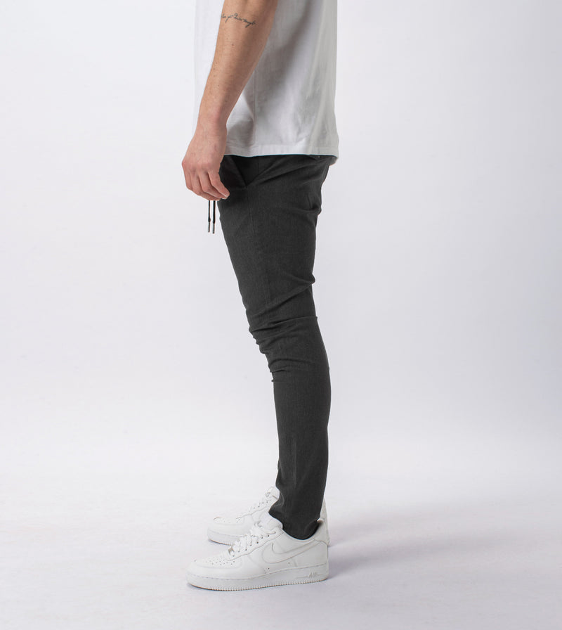 Sureshot Chino Charcoal Marle - Sale