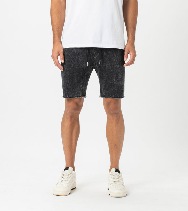 Sureshot Denim Short Black Salt