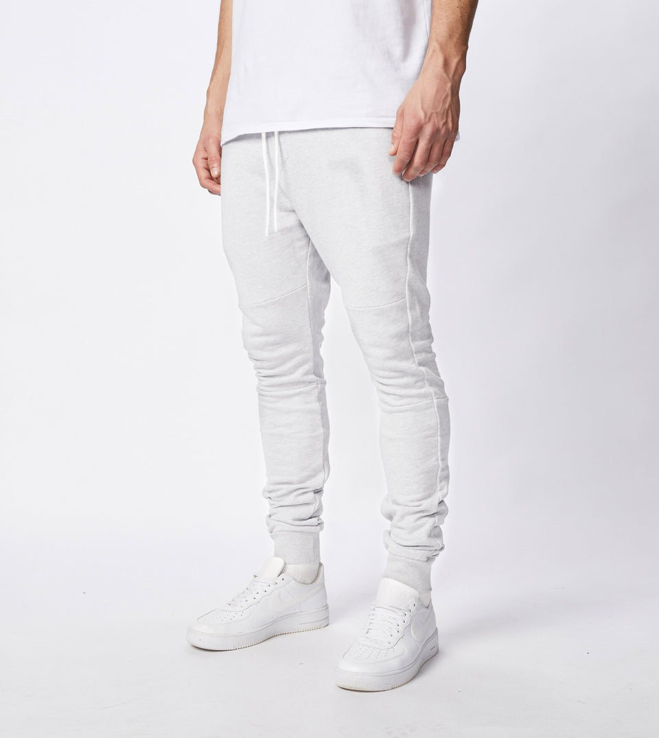 Sureshot Fleece Jogger White Marle