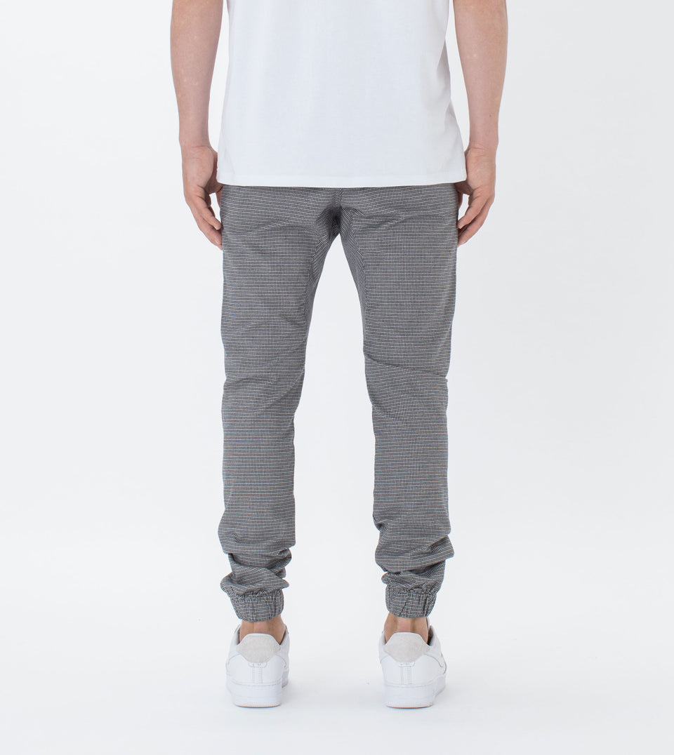 Sureshot Herringbone Jogger Grey Marle