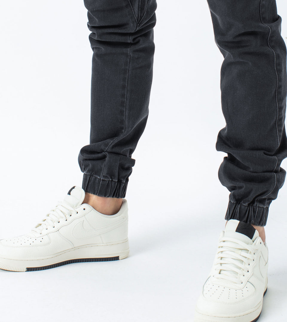 Sureshot Denim Jogger Milled Black