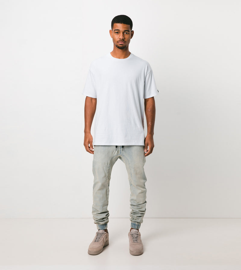 Sureshot Jogger Whitewash - Sale