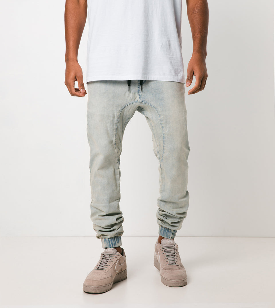 Sureshot Jogger Whitewash