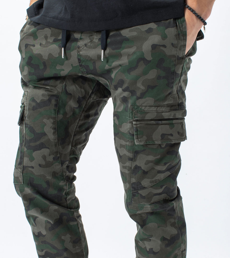 Sureshot Lightweight Cargo Jogger Dark Camo - Sale