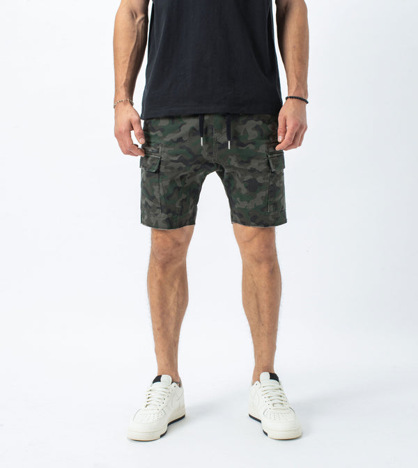 Sureshot Lightweight Cargo Short Dark Camo - Sale