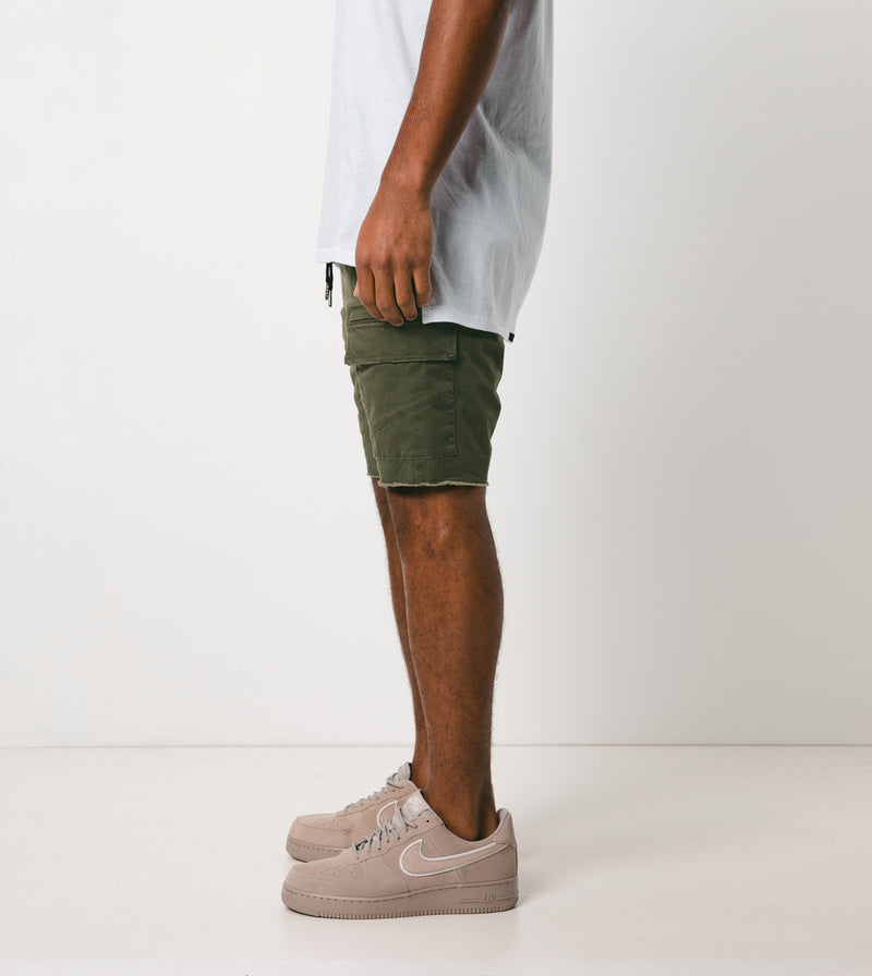 Sureshot Lightweight Cargo Short Military - Sale