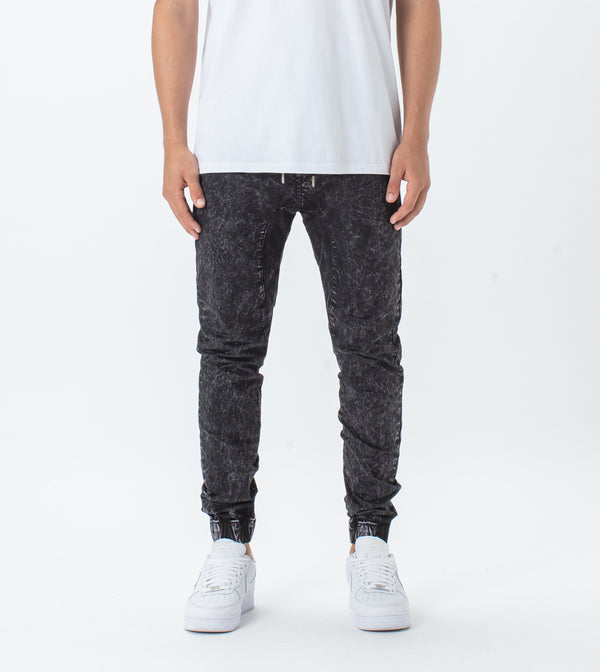 Sureshot Lightweight Jogger Black Acid