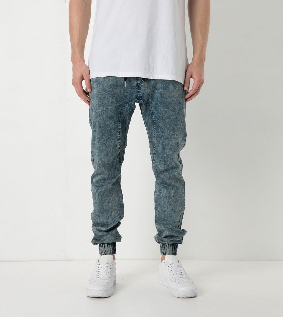 Sureshot Lightweight Jogger Blue Acid - Sale