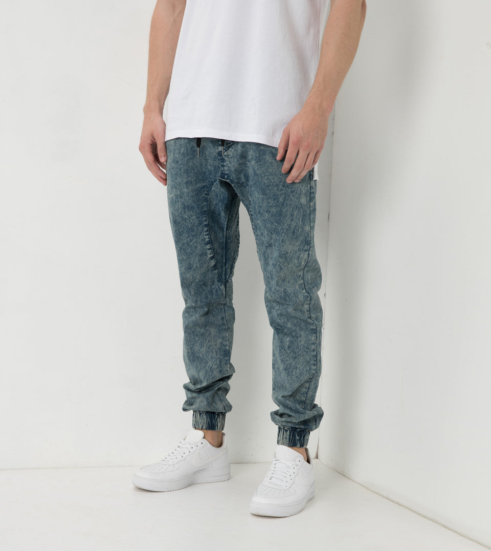 Sureshot Lightweight Jogger Blue Acid