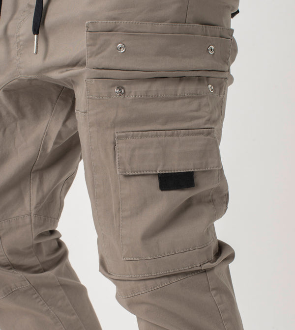 Sureshot Lightweight Cargo Jogger Almond - Sale