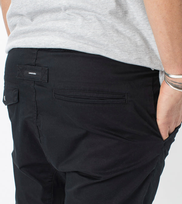 Sureshot Lightweight Short Washed Black
