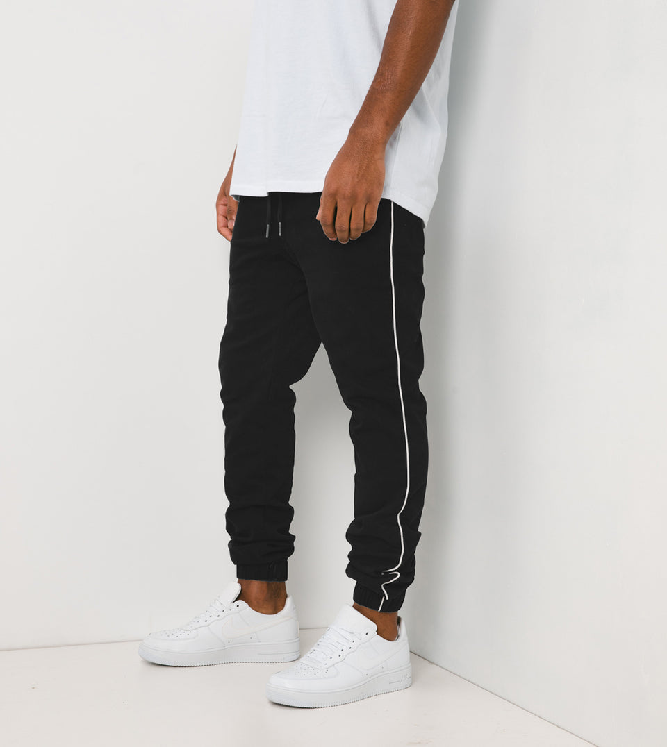 Sureshot Pipeline Jogger Black/White
