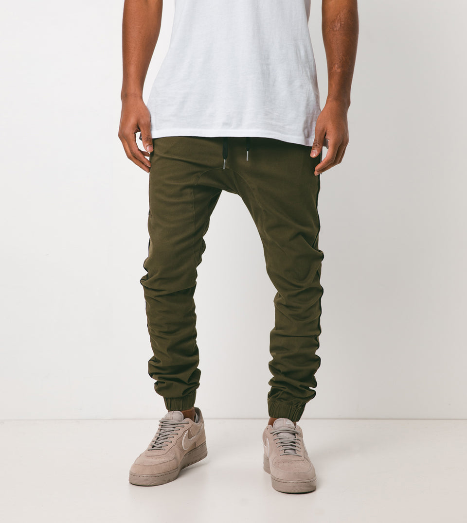 Sureshot Pipeline Jogger Military/Black