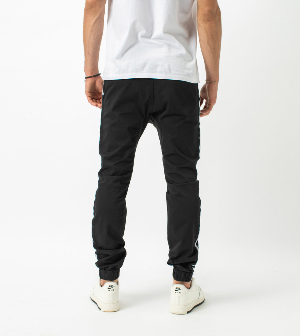 Sureshot Sideline  Lightweight Jogger Black/White - Sale