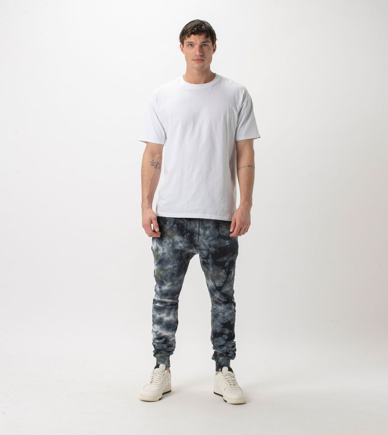 Sureshot Fleece TD Jogger Black/Grey - Sale